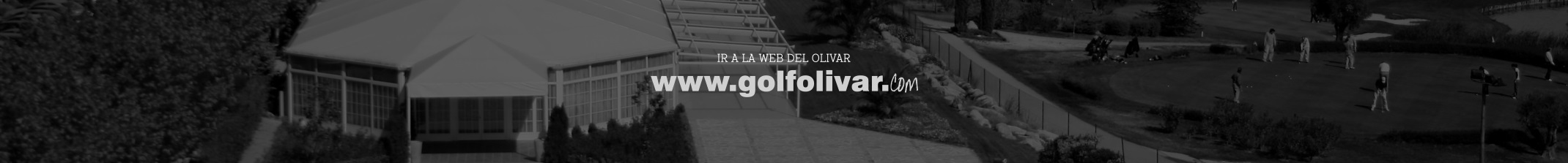 Web Olivar Golf Sabores Mas que Golf