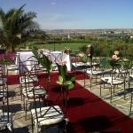 Ejemplo de ceremonia civil en el Mirador del Olivar