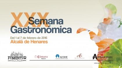 XX Jornadas Gastronómicas Cervantinas Fomentur Ayuntamiento de Alcalá Sabores Más que Golf by PerfectPixel Publicidad Banner