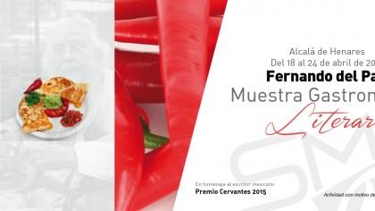 Fernando del paso muestra gastronomica literaria Encin Golf Hotel Alcala de Henares PerfectPixel Publicidad