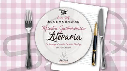 JOrnadas Cervantinas Encin Golf Nuestra Gastronomia literaria Homenaje a Eduardo Mendoza (Perfect Pixel Publicidad)