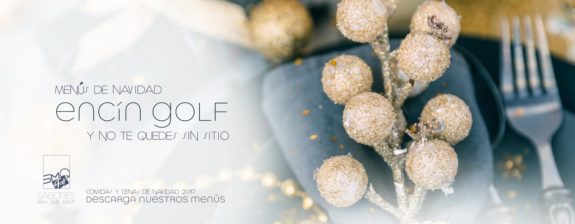 Sabores Más que Golf descubre nuestros menús de Navidad
