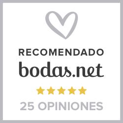 Empresa recomendada por Bodas Net